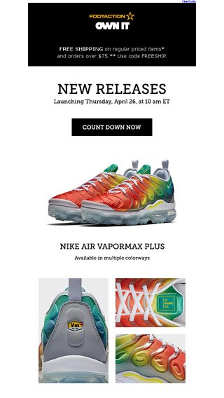new product 032f3 ec8d3 Nike Air VaporMax Plus – available tomorrow! - Footaction ...