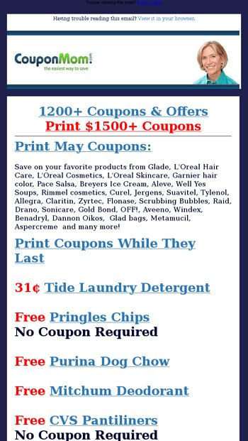 Publix Alert New Free Deals Starting Now Coupon Mom Email Archive