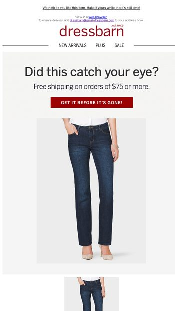 3fa239cc176 The Pants You Need Now - dressbarn Email Archive