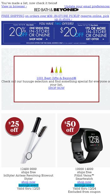 here are 2 coupons because you re a valued customer you ve earned rh emailtuna com