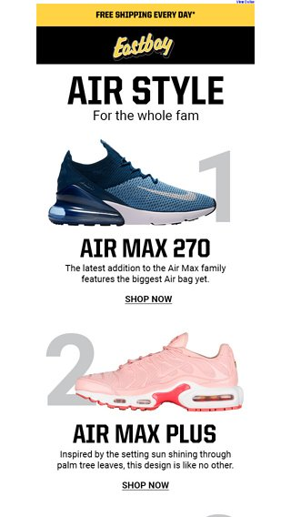 super popular f4e28 0e663 Top Nike Air Max kicks you need in your rotation. - Eastbay ...