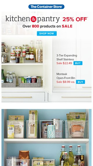 ba4c9ae018e What Your Pantry Is Missing - The Container Store Email Archive