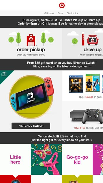 Last chance! Great deals on Nintendo Switch, Xbox + more