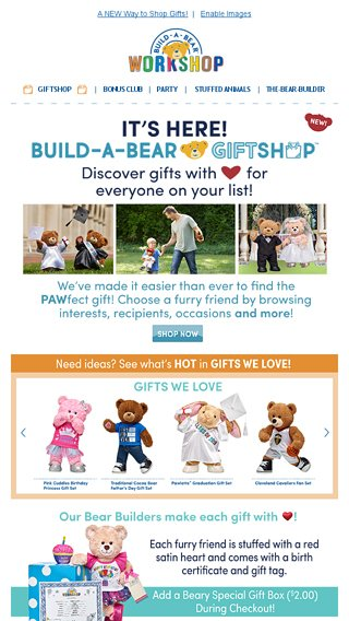 ❤ Introducing the NEW Build-A-Bear Giftshop! ❤ - Build-A-Bear ...