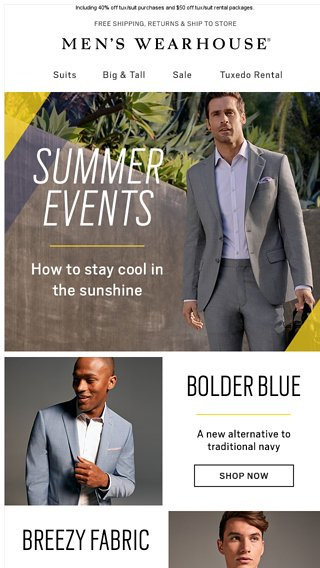 239be203d0 How to stay cool at summer weddings - Men s Wearhouse Email Archive