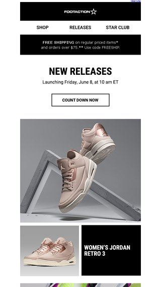 106e2bbbddbc49 Women s Jordan Retro 3 In Particle Beige – Available Tomorrow! - Footaction  Email Archive