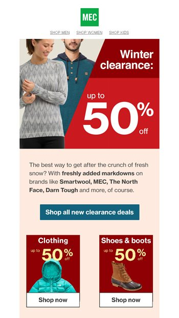 31827bcfced63 Fresh deals up to 50% off