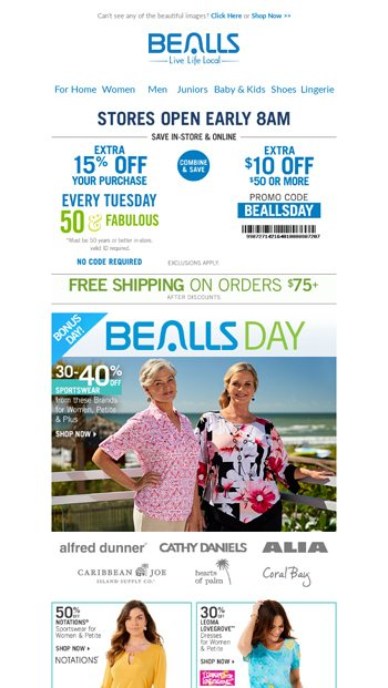 a3df2a47f2c1 Bonus Bealls Day! Combine   Save With Your Bealls Day Combo - Bealls Florida  Email Archive