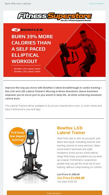 The latest cardio breakthrough from Bowflex - Fitness