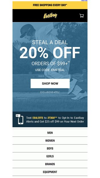 new product d1704 c0fd7 Max out on Nike Air. - Eastbay Email Archive
