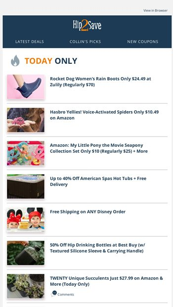daa84a966161a Over 70% OFF Shoe Deals 👟😱👢 - Hip2Save Email Archive
