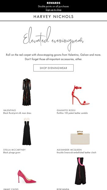 788938d29f1 Eveningwear to shine in - Harvey Nichols Email Archive