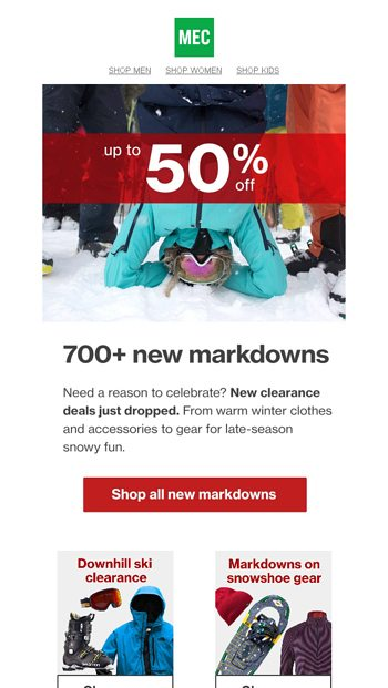 e213bc5c0 700+ new markdowns just added 🎆 - MEC Email Archive
