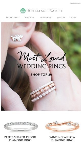 Our Most Loved Wedding Rings Final Days For Complimentary Diamond