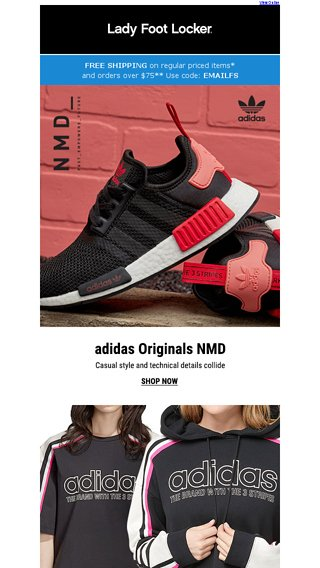 575f8184dc4e5 Check out modern classics from adidas Originals - Lady Foot Locker Email  Archive