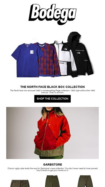 6a4900cf2f251 New at Bodega  The North Face Black Box Collection