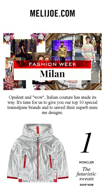 ecd03d3c5a10 Milan Fashion Week  Discover the SS19 Mini me of our Italian brands ...