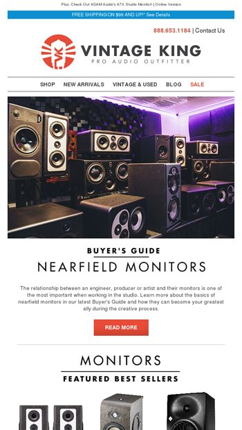 Buyer's Guide: Nearfield Monitors + Explore Best-Selling