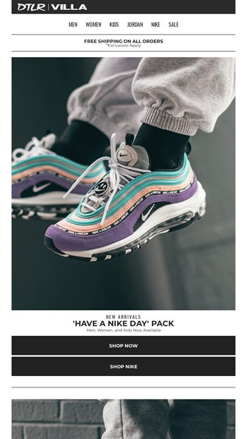 5e49099268777 HAVE A NIKE DAY 😃 Air Max Pack Now Available - DTLR Email Archive