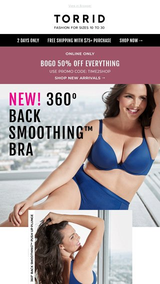 6a4d79d70d6ff Can your bra do this  - Torrid Email Archive