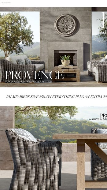Magnificent The Provence Outdoor Collection Now In Stone All Weather Download Free Architecture Designs Scobabritishbridgeorg