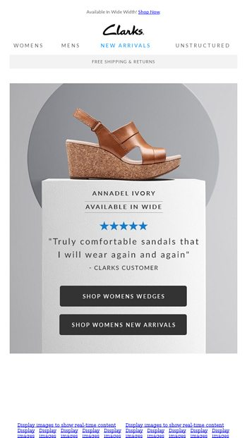 ac3453f68ba72 Black Friday in July Starts Now! - Clarks Shoes Email Archive