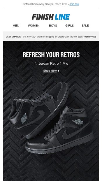 online store 5d54a 20f6b 👀These Jordan Retros tho. - Finish Line Email Archive