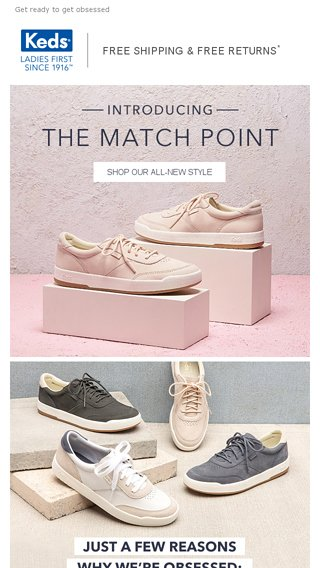 Introducing the Match Point - Keds