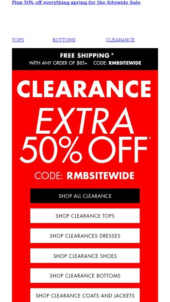 9da094da78b LOW PRICES ALERT  Up to 70% off - Roaman s Email Archive