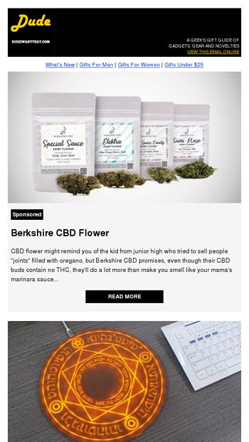 Berkshire CBD Flower - Dude I Want That Email Archive