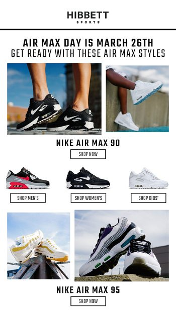 huge selection of ead53 b18f4 Get ready for Air Max Day with these classic styles ...