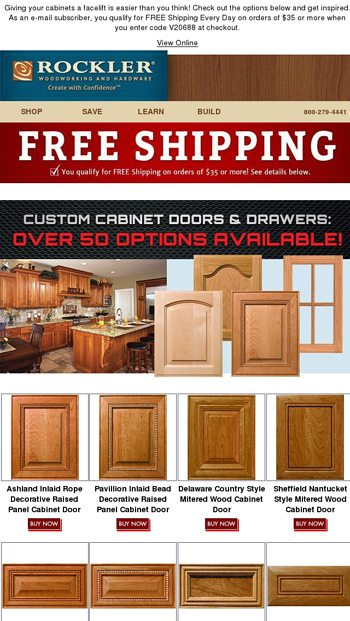 Transform Your Cabinets With Custom Doors And Drawers