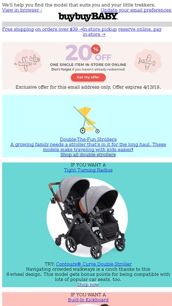 Your 20 Off Coupon Just Arrived Plus This Stroller Is Approved