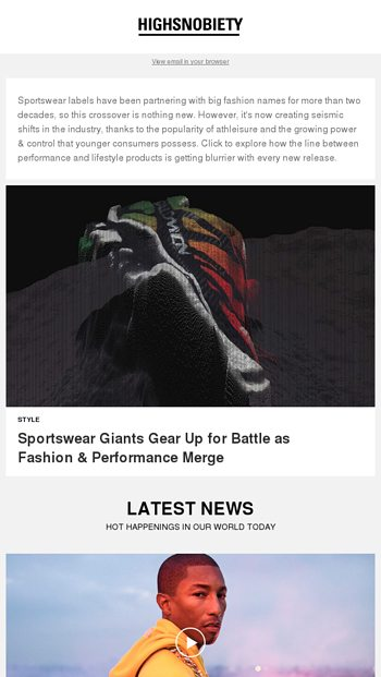 ed1f284bf5aab6 Sportswear giants gear up for battle as fashion amp performance merge