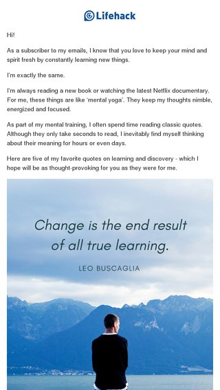 Quotes About Learning And Discovery Lifehack Email Archive