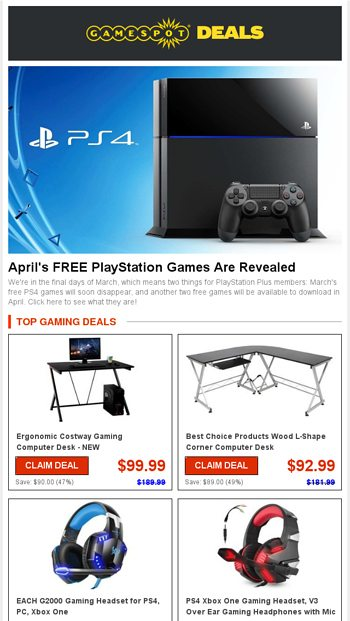 ☄ Next Month's FREE PS4 Games Coming In HOT!   Discounts on Top