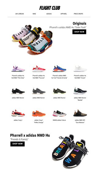 premium selection 095a8 645a9 Change the pace. Shop our latest adidas styles feat. NMD Hu ...