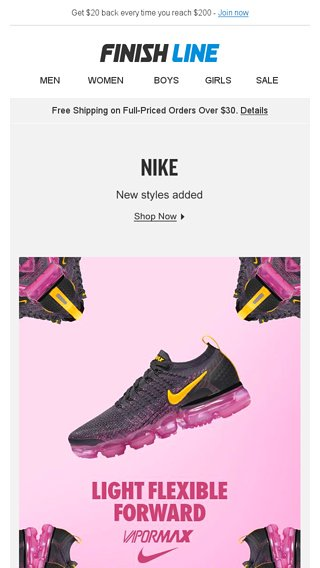 96fb38933866d 3 New Women s Nike Styles. - Finish Line Email Archive