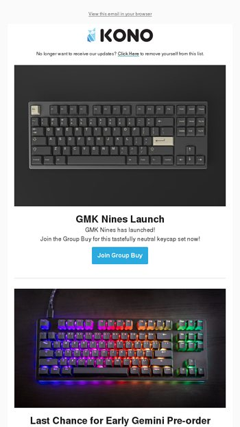 GMK Nines launch, Stealth Kira Keycaps + Case Upgrade, and Last