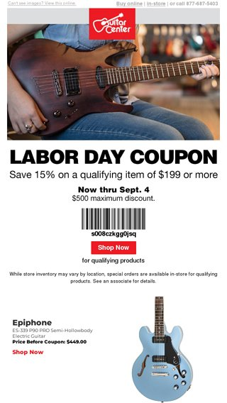 The Daily Pick featuring Musician's Gear - Guitar Center