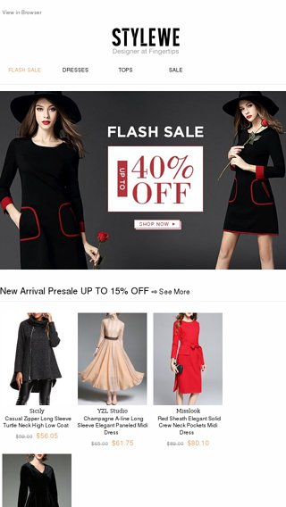 d670e5cc29 Flash Sale. The Fall Essentials You Actually Need - StyleWe Email ...