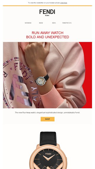 5b1cb8cf23 Run Away Watch - Fendi Email Archive