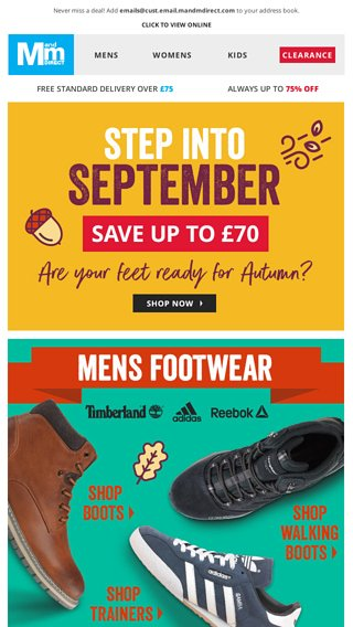 Step into September in style – shop