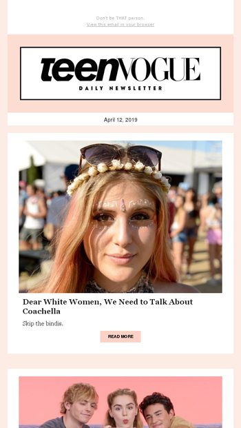 How to avoid cultural appropriation at Coachella - Teen