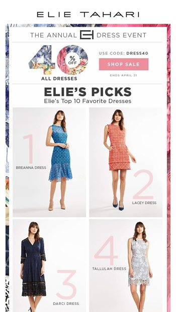 5283133809d Ending Soon  Additional 30% Off Sale Styles - Elie Tahari Email Archive