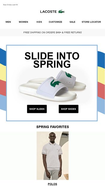 69e0c0bc9 2 weeks left to redeem your  20 birthday treat from LACOSTE ...