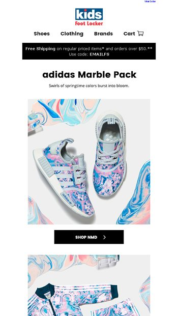 bea346327 We have adidas for everybunny! - Kids Foot Locker Email Archive