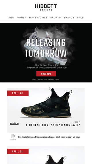 a4869549469c Launching tomorrow  Lebron Soldier 12 SFG