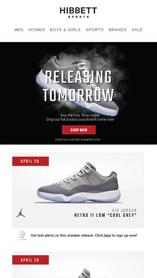 334b0e44389 Releasing tomorrow: Retro 11 Low