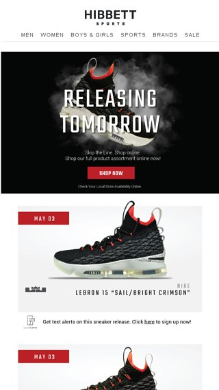 timeless design 3bf4b 999ce Dropping tomorrow: Lebron 15, Air Max 270, Air Huarache ...